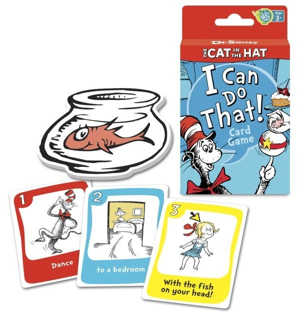 7 1 - Настольная игра The Cat In The Hat. I Can Do That! by Dr Seuss