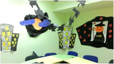 chem ukrasit kabinet na helloween - Празднуем Halloween с размахом: сценарий праздника на английском языке для педагогов и «многодетных» родителей