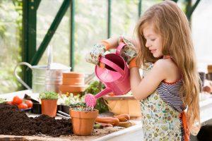Поговорим о садоводстве и огородничестве с детишками